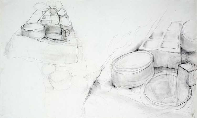 """Study for Chaco Graphite 34"""" X 21"""""""